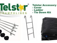 12ft Telstar Cover, Ladder and Tie Down Kit Packs