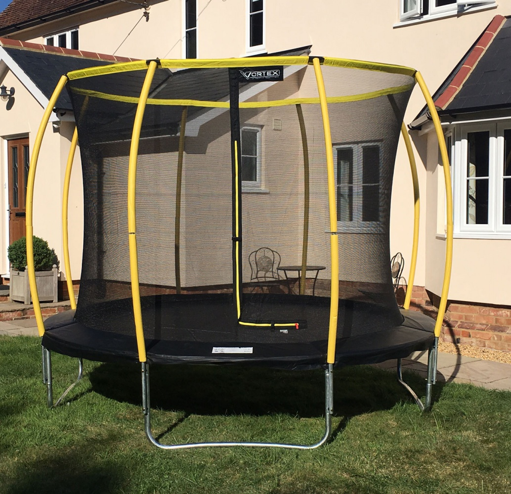 10ft Telstar Trampolines Orbit Trampoline And Enclosure